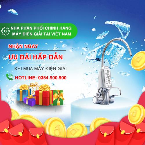 máy lọc nước điện giải cleansui 301