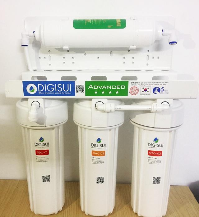 Bộ lọc tiền xử lý Digisui của máy lọc nước Ionia