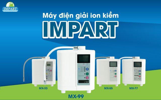 Máy lọc nước Ion Kiềm IMPART MX–33