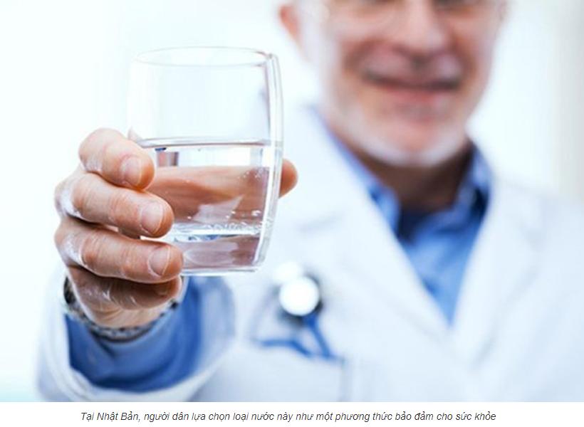 bác sĩ nói gì về nước kangen