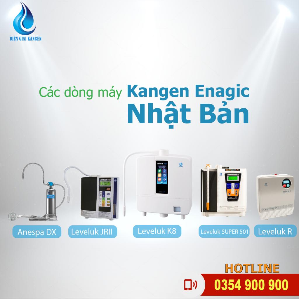 thương hiệu máy lọc nước điện giải kangen
